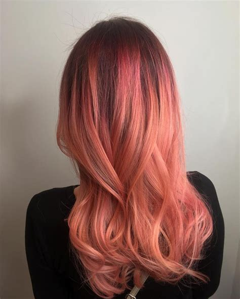 coral hair color best 25 coral hair ideas on coral hair color
