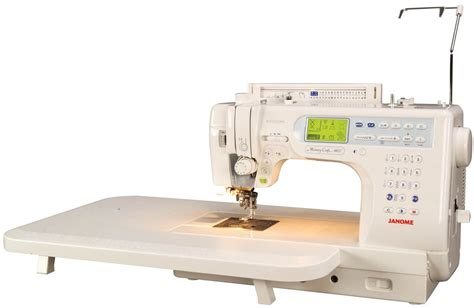 Janome Quilting Machine Reviews by Janome Memory Craft 6600 Sewing Machine Sewingmachines