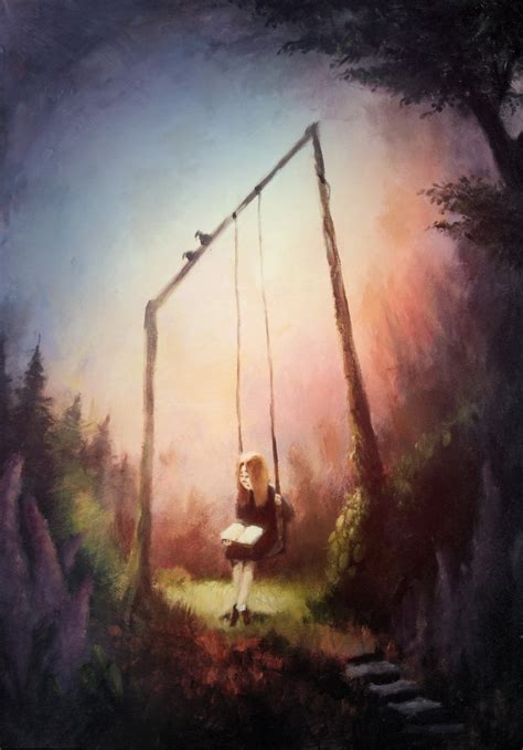 paint deviantart on the swing painting by bakenius on deviantart