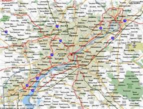 Philadelphia State Map by Philadelphia Pennsylvania Map