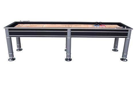 the cosmopolitan 9 foot shuffleboard table by berner billiards