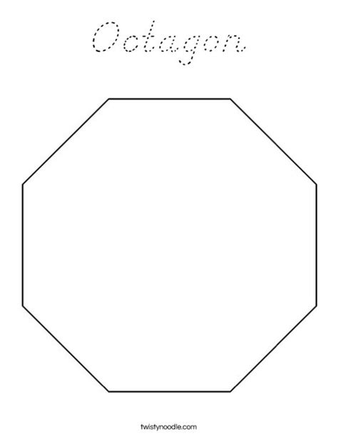 octagon coloring page d nealian twisty noodle