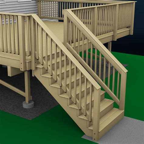 how to build a banister exterior stair handrail how to build a deck wood stairs