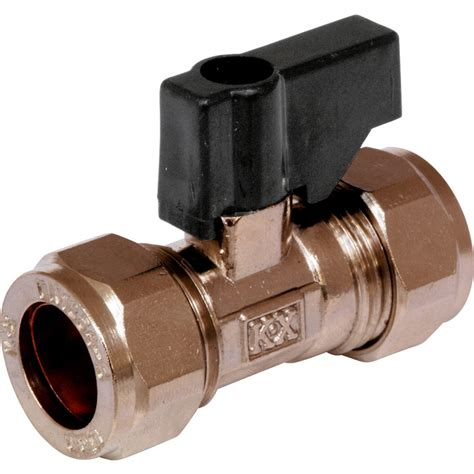 Plumbing Valves And Fittings by Isolating Valve Handled 15mm Toolstation