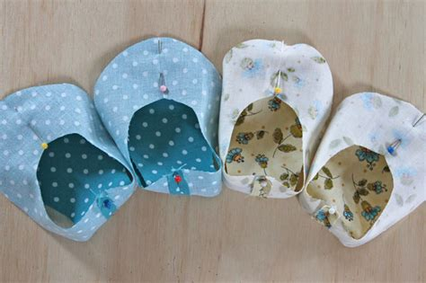 How To Make Handmade Baby Shoes - handmade fabric baby shoes ehow crafts ehow