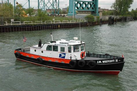 floating office boat detroit michigan post office and detroit on pinterest