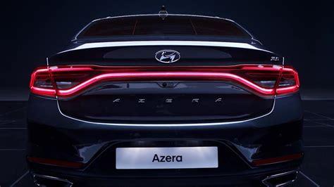 all new azera 2018 2018 hyundai azera interior exterior and drive