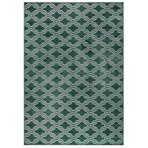 tile pattern rug feike tile pattern rug in green indoor rugs cuckooland