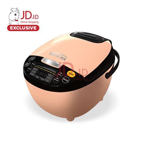 Yong Ma Digital Rice Cooker jual yong ma digital rice cooker 2 l ymc211 beige jd id