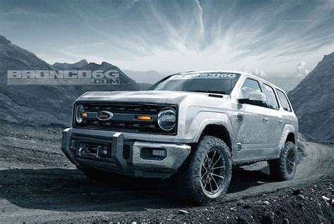 ford bronco 2017 4 could the 2020 ford bronco four door look like this check