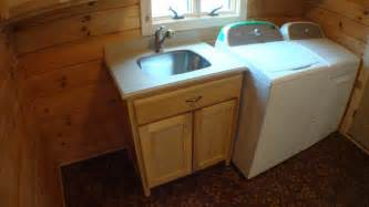 Laundry Room Sink Vanity Crafted Solid Poplar Mudroom Cabinets Clement