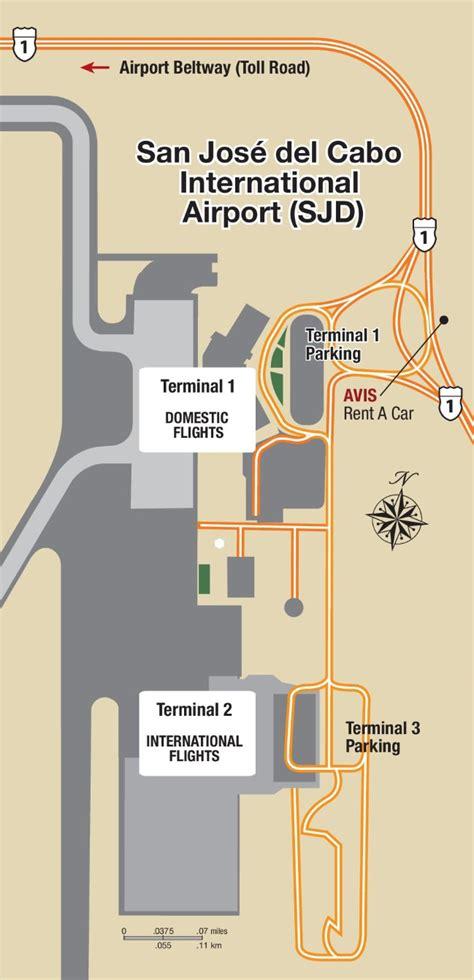 san jose international airport route map los cabos international airport map