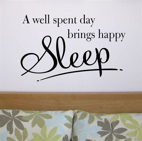 quotes for bedroom wall happy sleep bedroom wall quote sticker wa260x