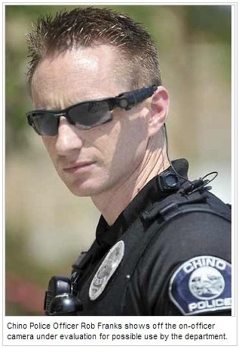 flex cop le officer equipped with a taser axon flex on officer
