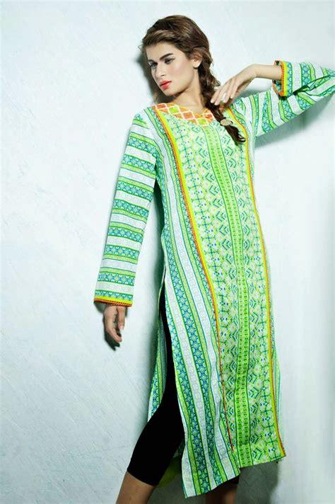 kurti pattern 2014 new long shirts kurti designs for summer and eid by