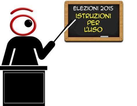 ministero interni elezioni regionali elezioni regionali 2015 istruzioni per il voto