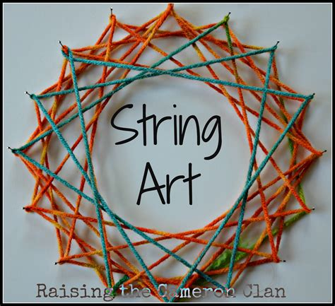 Easy String For - string crafts for