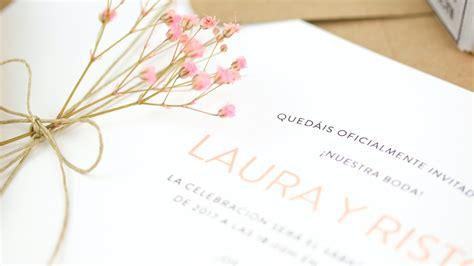 invitaciones de boda por 30 centimos invitaciones boda 20 centimos invitaciones y detalles de las invitaciones de nuestra boda toelrrato
