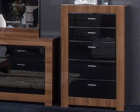 Walnut And Black Gloss Bedroom Furniture Bedroom Furniture Black Gloss And Walnut Home Decor Interior Exterior