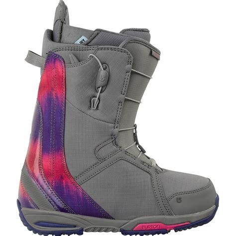 burton boots womens burton felix snowboard boots s 2014 evo outlet