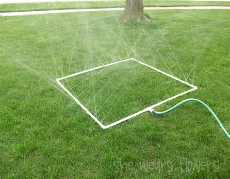 pvc sprinkler water toy pvc pipe projects building with pvc pvc craft projects