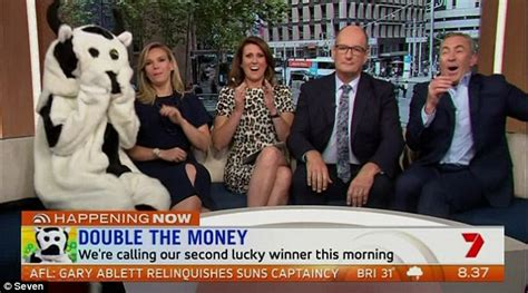 Sunrise Cash Giveaway - sunrise s cash cow sees another viewer answer with i wake up with today daily mail