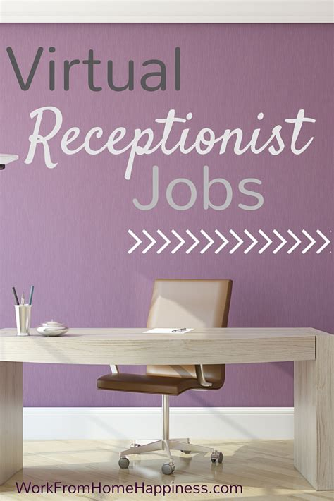 Online Receptionist Jobs Work From Home - virtual receptionist jobs work from home happiness