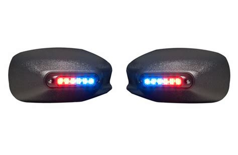 whelen emergency vehicle lights whelen mirror beam mirror mounted super led series