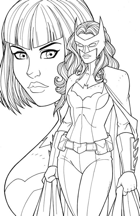 bat woman coloring page sketching catwoman 15 minutes coloring pages