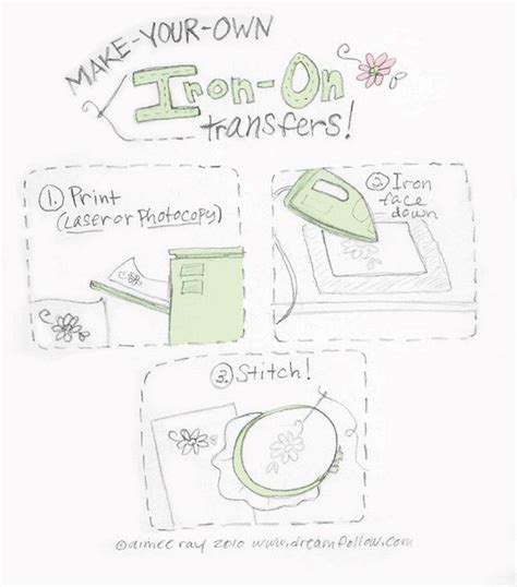 Make Your Own Iron On Transfer Paper - make your own iron on transfer iron on transfer