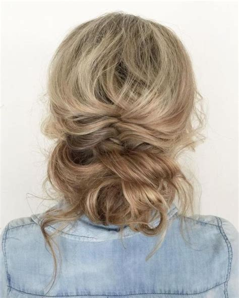thinning bun 40 picture perfect hairstyles for long thin hair updo