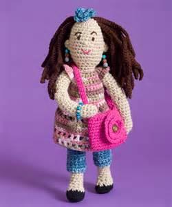 Patterns free fashionista farrah doll amigurumi crochet pattern