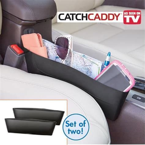 Original Catch Car Seat Pocket Car Organizer Aksesoris Mobil catch caddy seat pocket catcher car organizer poket kereta