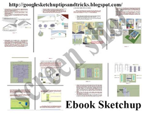 tutorial google sketchup indonesia google sketchup tips and tricks ebook google sketchup