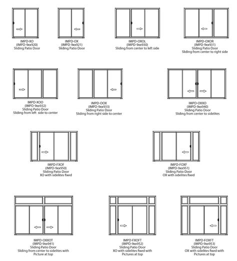 Sliding Glass Door Options Sliding Patio Doors