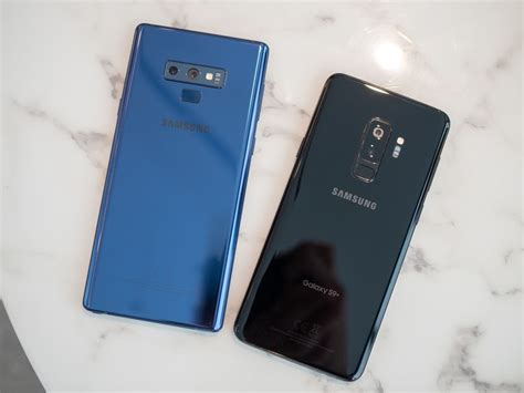 Samsung Galaxy S10 Vs Note 9 by Samsung Galaxy Note 9 Vs Galaxy S9 Which Should You Buy Android Central