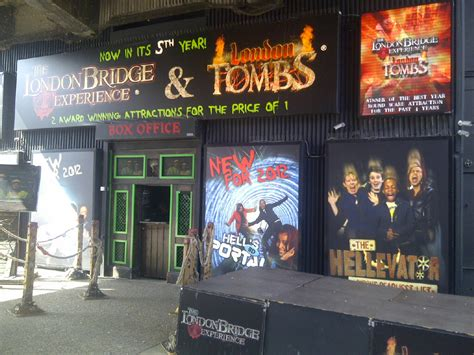 the london bridge experience review london bridge experience and tombs scaretour