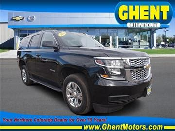 Ghent Chevrolet Cadillac by Suvs For Sale Greeley Co Carsforsale