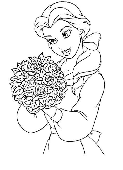 princess belle coloring pages games princess coloring pages coloring and belle on pinterest