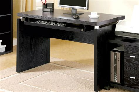 Black Wood Computer Desk Black Wood Computer Desk A Sofa Furniture Outlet