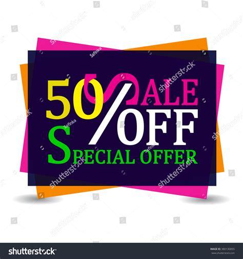 Sharma Designs 50 Sale sale 50 discount tag special stock vector 380130055