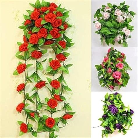 model bunga plastik gantung
