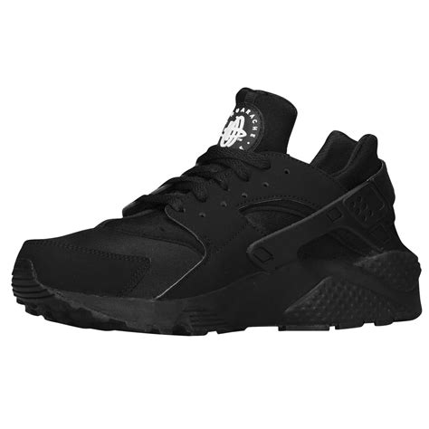 Nike Air Huarache Running Black Antennadiner Offers Nike Air Huarache Mens Outlet Black