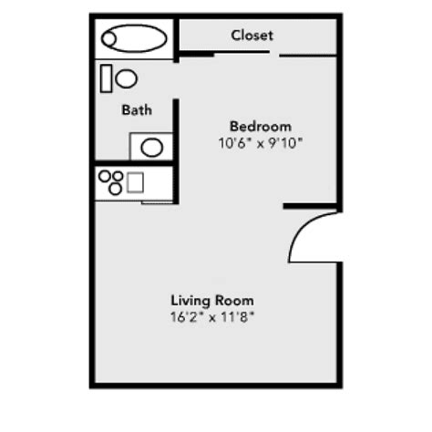 efficiency floor plans pricing and floor plans housing ut dallas