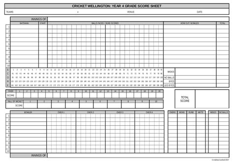 tally sheet template 2018 score sheet fillable printable pdf forms handypdf