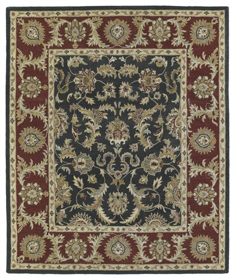 king rug kaleen solomon king david 4052 68 graphite rug