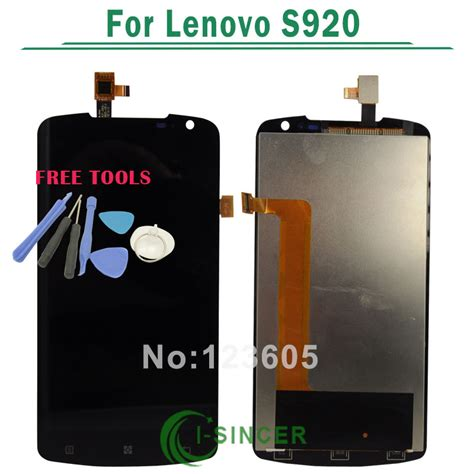 Lcd Lenovo S920 aliexpress buy black for lenovo s920 lcd display screen digitizer touch screen assembly