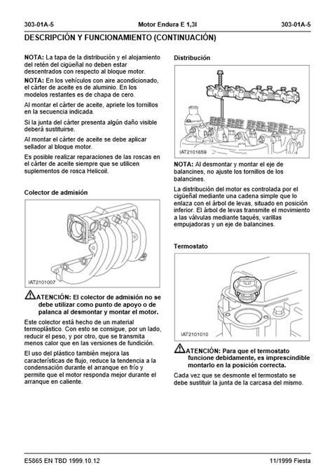 Descargar Manual de taller Ford Fiesta / Zofti - Descargas