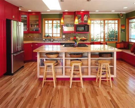 green and red kitchen ideas sensational red kitchen colors inspired by sour cherries