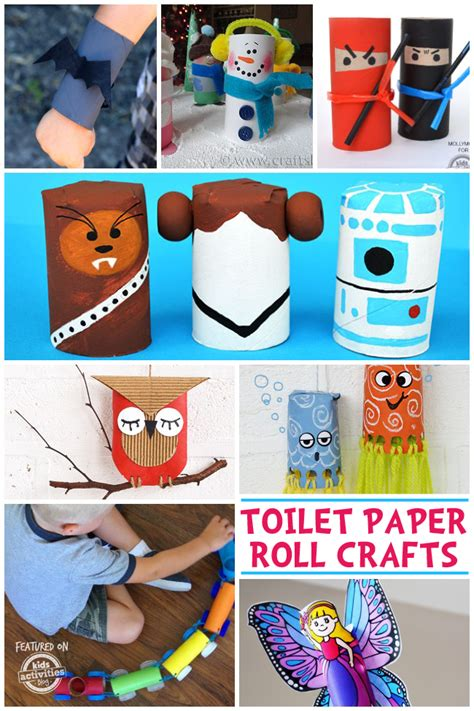 What Crafts Can You Make With Toilet Paper Rolls - 65 toilet paper roll crafts